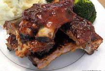 American B B Q / Favorite American Summer Food-Ribs, Chicken, Trimmings / by Vetta Kelepouris-Bailey