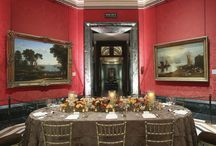 Turner Room (Room 15) / A wonderful intimate entertaining option in the heart of the Gallery, the Turner Room offers an exclusive dining experience in the ambience of two iconic artists like Claude Lorraine and J.M.W. Turner. Guests can be regaled by both the intellectually inspiring works on show as well as the pure aesthetic beauty of the room. Reception capacity: 50 | Dinner & Breakfast capacity: 36