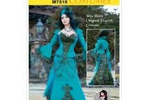 Cosplay DIY - Sewing Patterns / Sewing patterns to make costumes for Cosplay fancy dress.