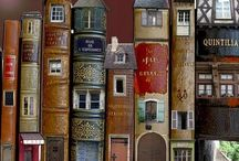 Book Art / Altered books and book sculptures where stories come to life