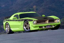 Muscle motor cars