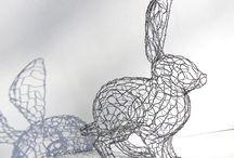 Hare skulptur