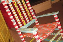 Painted Chairs / by Polly Wickstrom