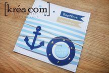 Carte thème marin