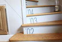 Escaliers peints