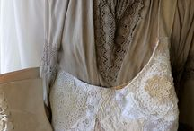 Lace and Linen bags