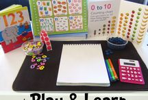 Centers/invitations to play, create, make / by Kandace Tennant