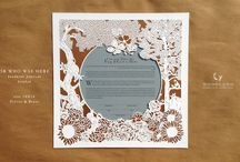 Custom Bespoke Papercut Ketubah: Unique personal design for your wedding / CUSTOM HEIRLOOM HANDMADE KETUBOT TO ENRICH YOUR WEDDING DESIGN.  EVERY KETUBAH IS MADE TO ORDER AND PERSONALIZED FOR THE COUPLE