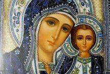 иконы / православные иконы в окладах