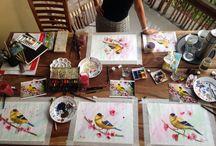 My Painting Lessons / Painting lessons. Уроки рисования.