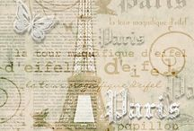 For the love of scrapping-Paris themes