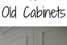 cheap ways to refurbish cupboards