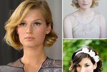 Wedding hair - short