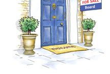 Welcome Cards for Estate Agents / Welcome cards for Estate Agents to send to their clients when instructed to sell a property.