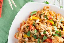Thai- Inspired Pasta / A collection of our favorite pasta recipes with Thai flavours