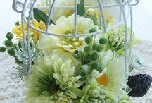 【夏・小さなお花の教室】プリザ・アート / Flower noteが主宰する「小さなお花の教室」生徒さんの作品集です。プリザーブドやアートフラワーを使った夏のギャラリーです。