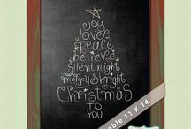 Christmas Chalk Art / by JoDitt Williams | JoDitt Designs