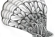Zeichnungen / Zentangle etc