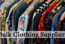 Bulk Clothing Supplier / Wholesale bulk clothing supplier and manufacturer with cheapest price