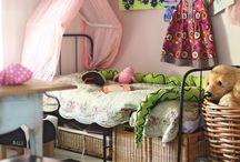 Lastenhuone / Iloisia ja leikkisiä lastenhuoneita Unelmien Talo&Koti -lehdestä. Happy and playful nurseries.