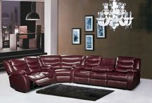 Gramercy Leather Sectional- Meridian Furniture