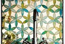 Vitrales, Mosaicos y  Vitrofusión / Vitrales y vitromosaicos