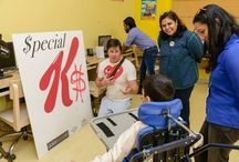 Al Noor Special Needs / Creating $pecial K as part of the 2016 Dubai $ Project Collaborating with the kids from Al Noor special needs, Dubai