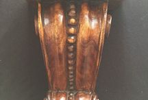 Sconces and carvings