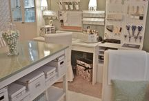 Craft Rooms I would die for and in