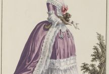 18th century: Purple