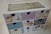 caixas de gavetinhas