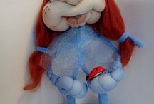 куклы в чулочной технике