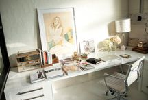 Home Office Spaces / Reference photos for office and desk spaces and layouts etc.