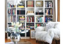 Storage, bookcases and shelves
