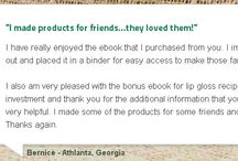 """Handcrafter's Companion """"Testimonials"""" / What People are saying about Handcrafter's? Let's hear from them."""