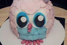 Inky's Cakes  / Eigen gemaakte fondant taarten.