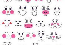 pofák- arcok