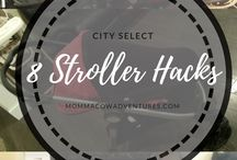 Stroller / Stroller ideas, stroller hacks, cool ideas