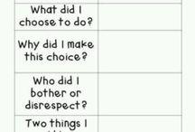 Discipline/ respect/ silence