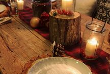 Christmas Ideas / Trees, Garland, Crafts, Food, Lights, Ideas, Clothing, Cute things, etc.