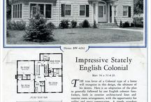 colonial inspirations layout / by Rebecca Graue Chambers