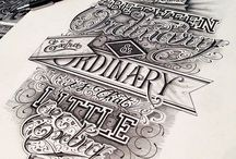 Typography and lettering / by Cat Connolly