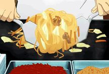 Anime Food Gifs / ⚠️Don't view while Hungry⚠️