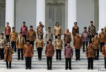 Batik Fashion and  Indonesia's  President / .. simple but formal enough to be taken seriously...