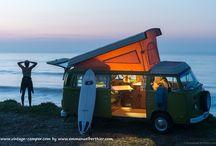 combi a louer / van vintage vw aménagés pour 4 personnes avec ou sans chauffeur