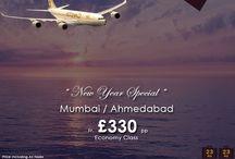 Mumbai/Ahmedabad fr £330 pp