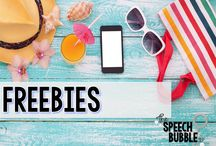 FREEBIES / Fun and FREE materials for you to use in your rooms!