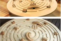 toys wooden labyrinth