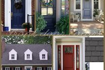 examples of painted front doors