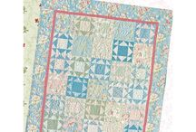 FREE Patterns / Each FREE pattern was designed specific to a fabric collection Gerri Robinson designed for Red Rooster Fabrics.  Make it your own by using your favorite color palette or fabric collection!